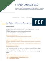 2ª Lição — Documentum Secundum - LATIM PARA AMADORES