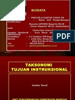 Taksonomi Tujuan Instruksional