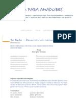 9ª Lição — Documentum Nonum - Latim Para Amadores