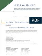 18ª Lição — Documentum Decimum Octauum - LATIM PARA AMADORES