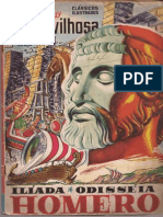 Ilíada e Odisseia Em Quadrinhos - Edição Maravilhosa