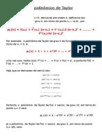 Resumo de Polinômios de Taylor B