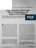 Price Quantity Discounts_ Some Implications for Buyers and Sellers