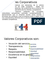 Valores Corporativos Expo