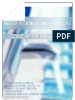 Instalaciones hidráulicas