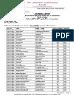 Result PMDC NEB (Medical) Step III 20150513