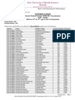 Result PMDC NEB (Medical) Step III 20150513