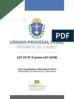 Codigo Procesal Penal Del Chubut