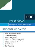 PPT Polarografi
