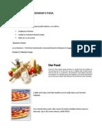 Business Model - Domino's Pizza