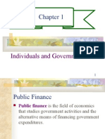 CHAPTER 1- INDIVIDUALS AND GOVERNMENT