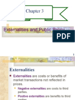 CHAPTER 3- EXTERNALITIES AND PUBLIC POLICY