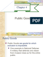 CHAPTER 4- PUBLIC GOODS