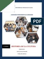 Modulo Historia de La Cultura Peruana