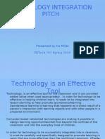 Technology Integration Pitch-iramiller