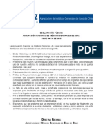 Declaracion Movilizacion MGZ 2015