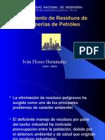 Tratamiento de Residuos de Refinerías de Petróleo