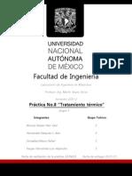 Practica 8 Tratamiento Termico