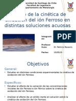 Presentación Oxidación Ión Ferroso