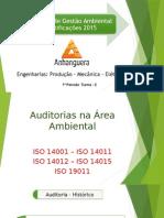 Seminário Auditoria Gestão Ambiental e Certificações