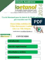 Uso de Bioetanol Para La Síntesis de Dietil Carbonato Por Reacción Con CO2_Oscar Felipe Arbelaez Perez