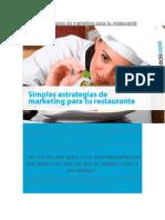 Simples Estrategias de Marketing Para Tu Restaurante