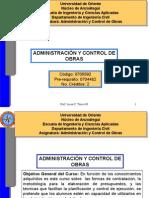 Administracion de Obras Md