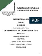 Metales y química