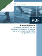 Recopilación de reglas y normas de las Naciones Unidas en la esfera de la prevención del delito y la justicia penal