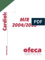 Cardiologia Notas 2004-2005