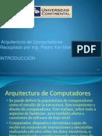 Introduccion Arquitectura del Computador