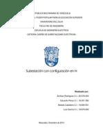 Aspectos Básicos y esquemas electromecánicos de una subestación en H