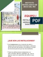 Instalaciones hidráulicas y sanitarias.