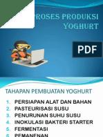 Pembuatan Yoghurt