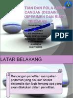 Pengertian Dan Pola Umum Rancangan (Desain)