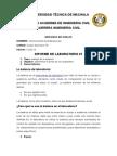 INFORME DE SUELOS 1