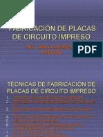 Fabricacion de circuito impreso