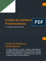 Unidad de Asistencia Postanestésica