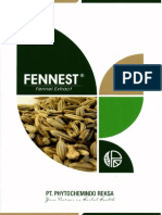 FENNEST - Standardized Extract of Foeniculum vulgare Mill. (Fennel or Adas)