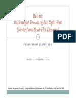 Split Plot Design