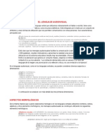 Gramatica Audiovisual o Leguaje Audiovisual