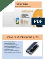 Solar case For Mobiles at Australia