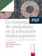 La Construcción de Ciudadanía en La Educación Media Superior