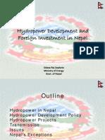 Hydropower Development in Nepal