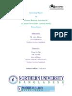 Internship Report on Al-Arafah Islami Bank Ltd.