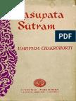 Pashupata Sutram - Haripada Chakroborti
