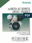 All Class Construction - Kubota AC Series Diesel Engine