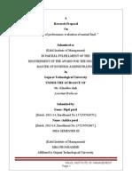 Research Proposal Format Sem-III