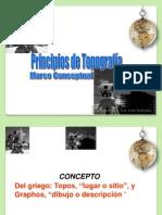 Principios Topografía