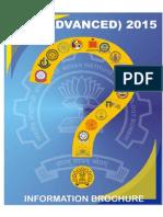 JEE advance 2015 information brochure.pdf